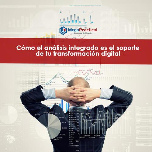 Cómo el análisis integrado es el soporte de tu transformación digital