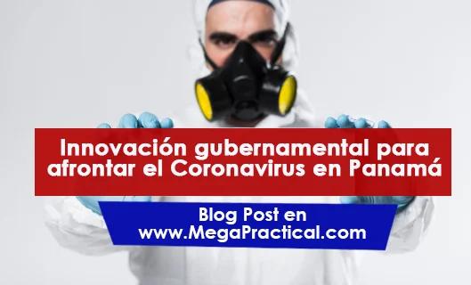 Innovación gubernamental para afrontar el Coronavirus en Panamá
